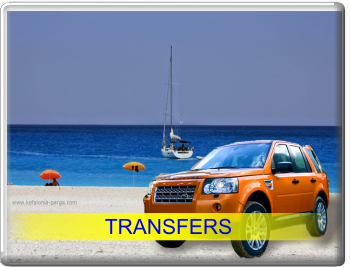 Kefalonia airport transfers. Transfers to any other destination in Kefalonia. Discover the best Kefalonia beaches during our tours and excursions! Great Greece travel.